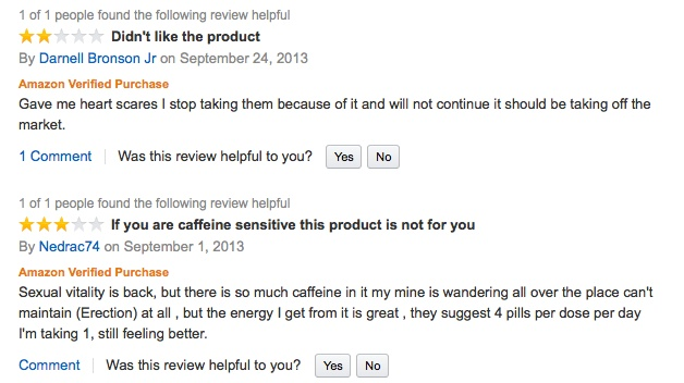 Reviews On Extenze