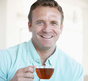 man-drinking-green-tea