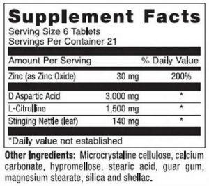 monster t ingredients