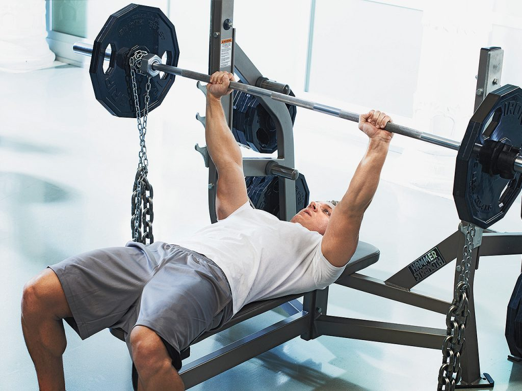 bench press heavy weights