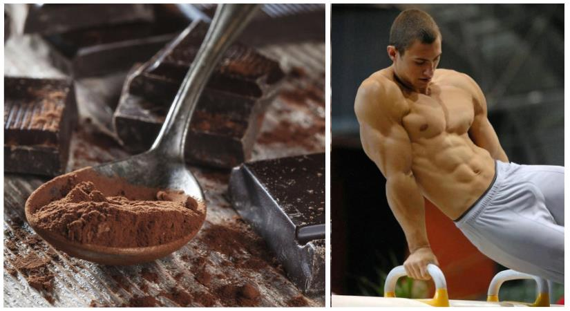 cacao boost muscle and testosterone