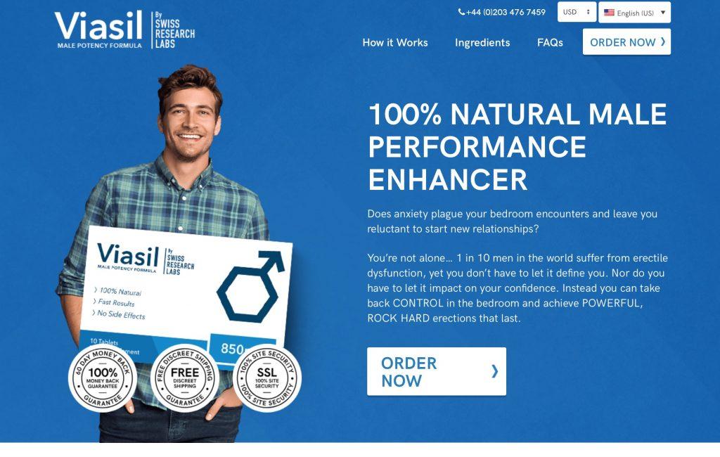 viasil website
