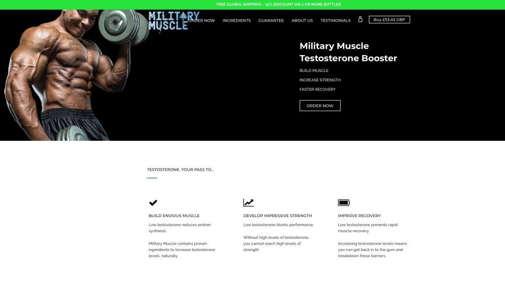 military muscle official website