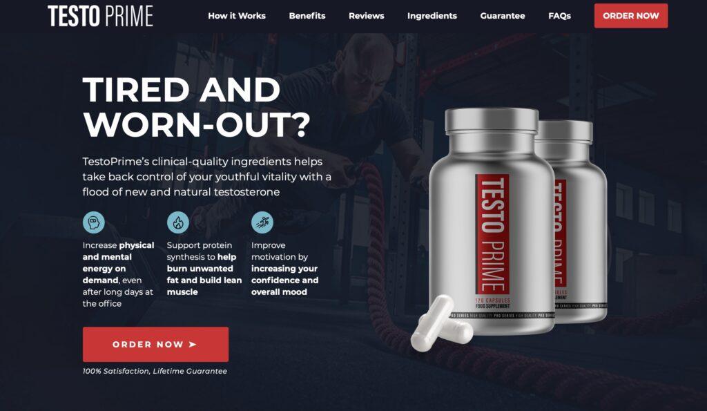 testoprime official website
